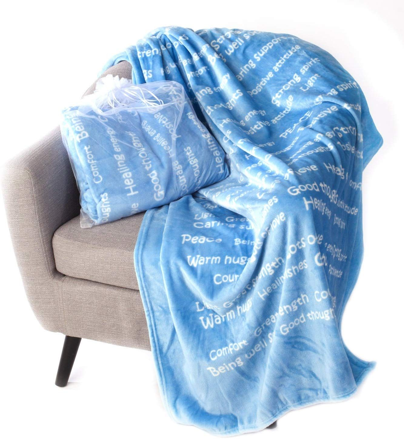 BlankieGram Healing Thoughts Blanket The