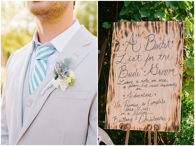 California Vineyard Garden Wedding - Fab You Bliss