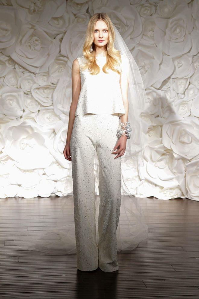 designer hochzeitskleider naeem khan braut anzug schleier ...