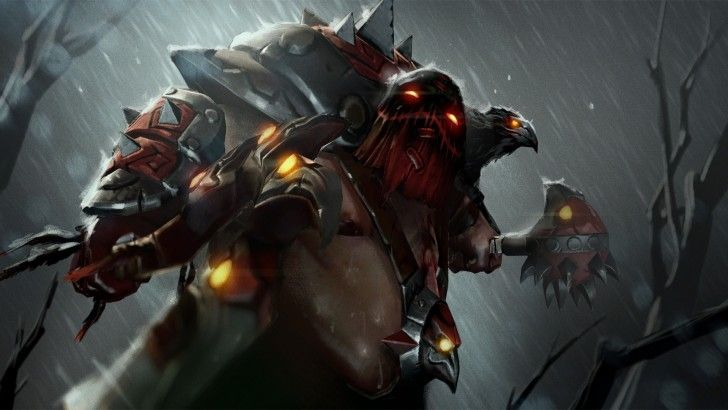 Download Pudge Murder Of Crows Dota 2 Set Loading Screen 1920x1080