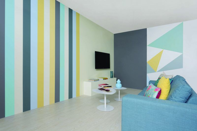 wohnung streichen ideen wohndesign. Black Bedroom Furniture Sets. Home Design Ideas