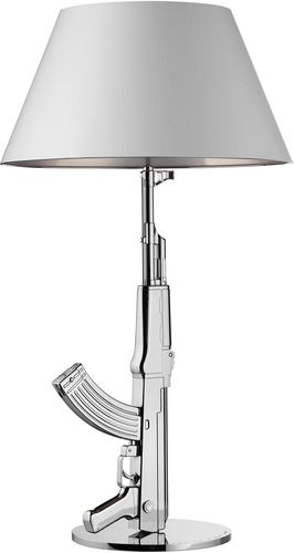 Guns Table Lamp Table Lamp Silver Table Lamps Philippe Starck