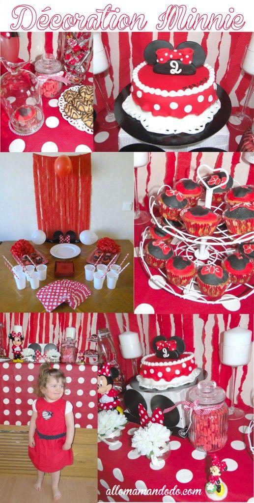 Un Anniversaire Minnie La D Coration De La Sweet Table De Ptitepomme Minnie Mouse