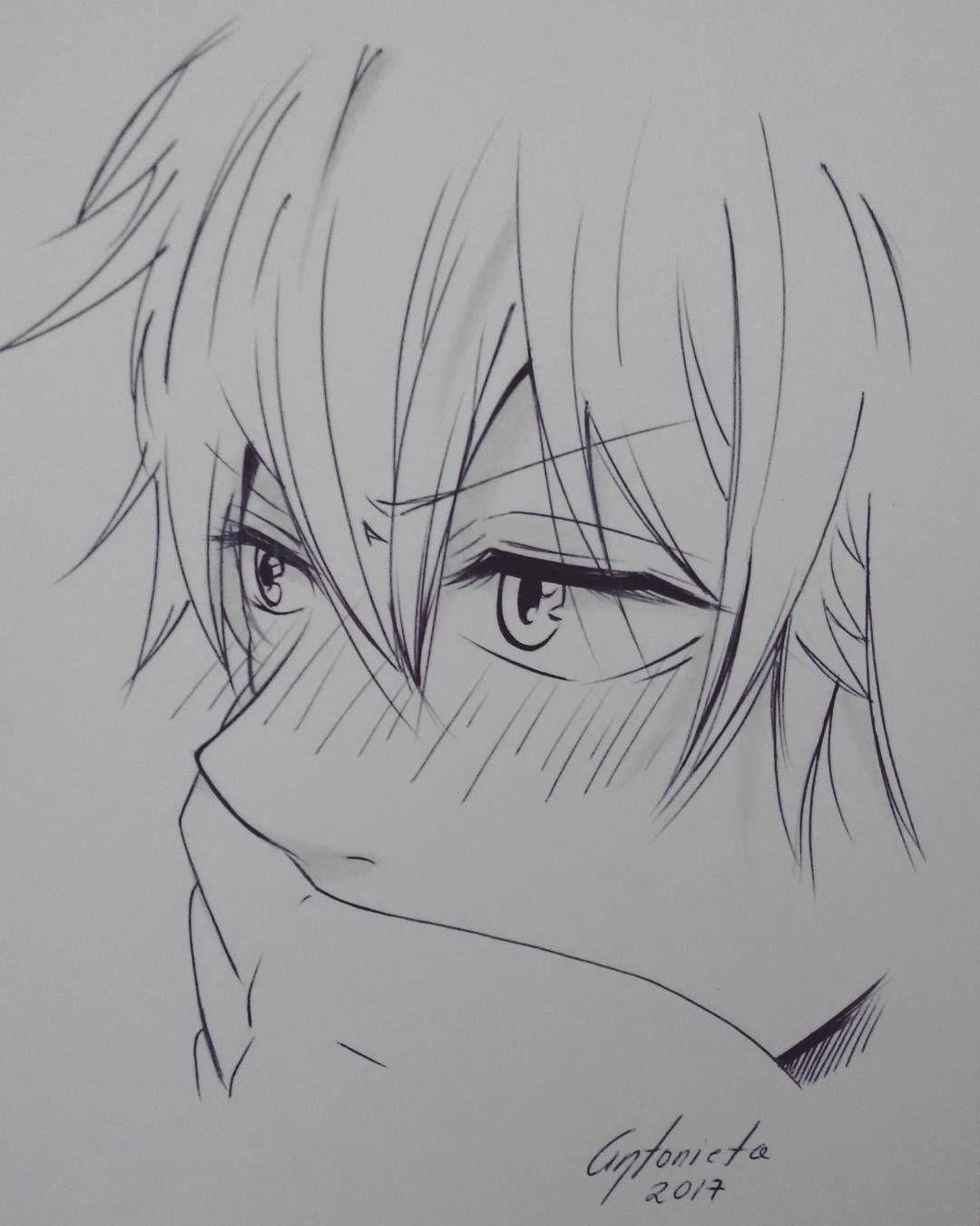 Аниме картинки парни нарисованные карандашом