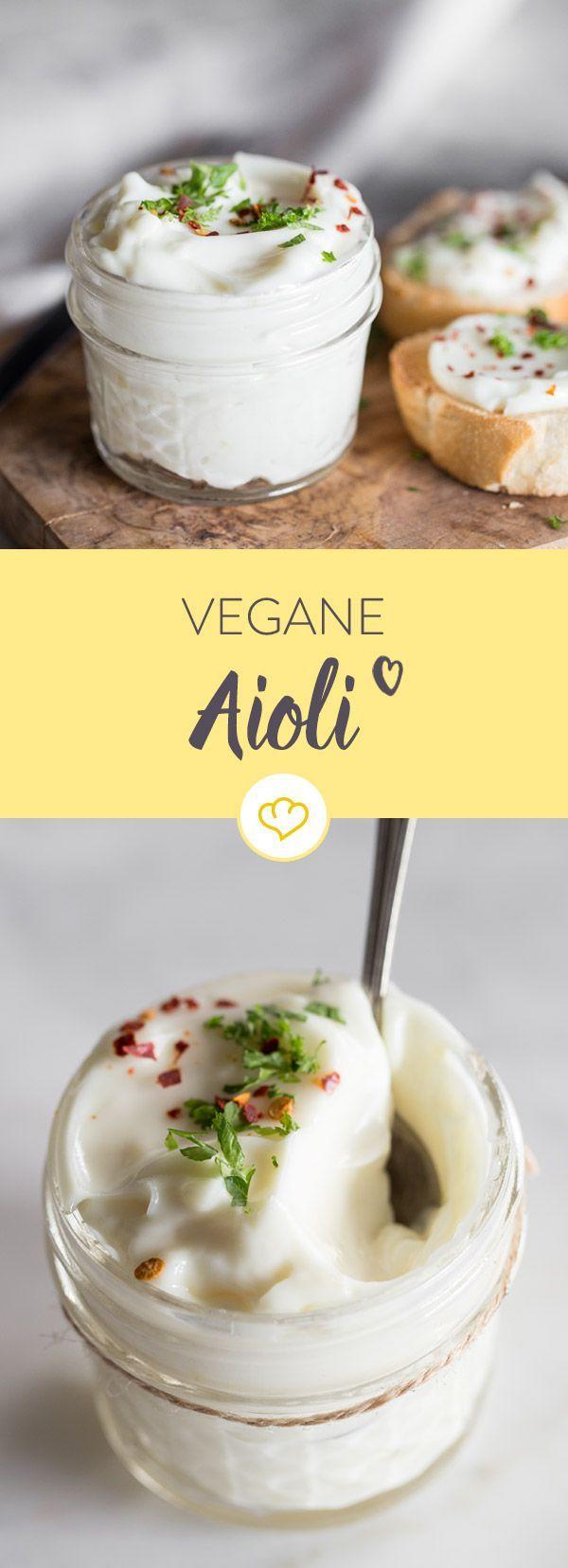 Vegane Aioli mit geröstetem Brot   - Es wird angegrillt! | Barbecue - #Aioli #angegrillt #Barbecue #...