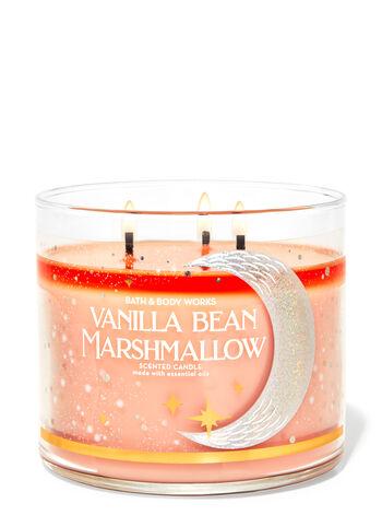 Bath & Body Works Vanilla Bean Marshmallow 3-Wick