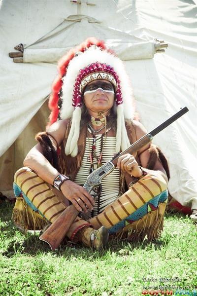 Костюм американского индейца