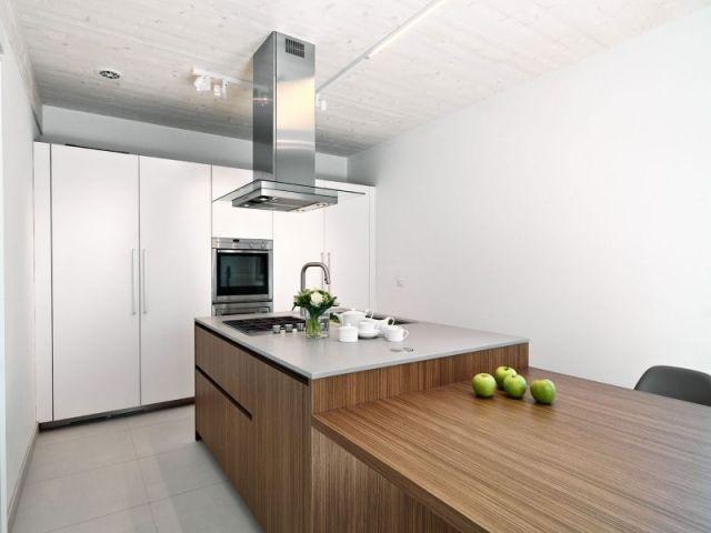 massivholz-kochinsel designer-küche eingebaut-einrichtungsideen ...