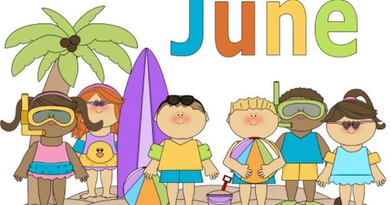 June Clipart Free Images Download | Clip art, Preschool themes ...
