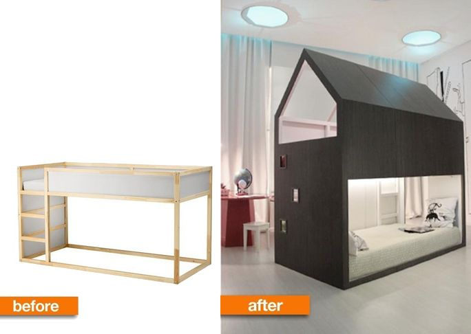 101 Epic Ikea Hacks For Your Home Playhouses Bunk Bed And Check Em