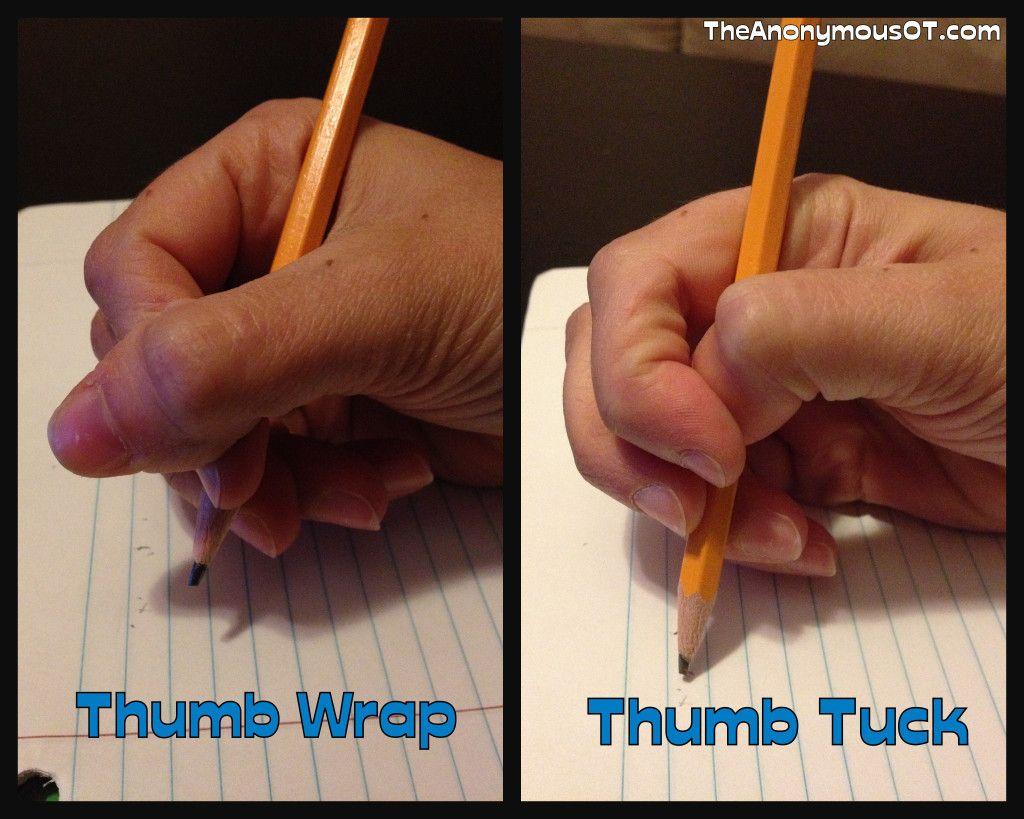 Thumb Wrap Thumb Tuck