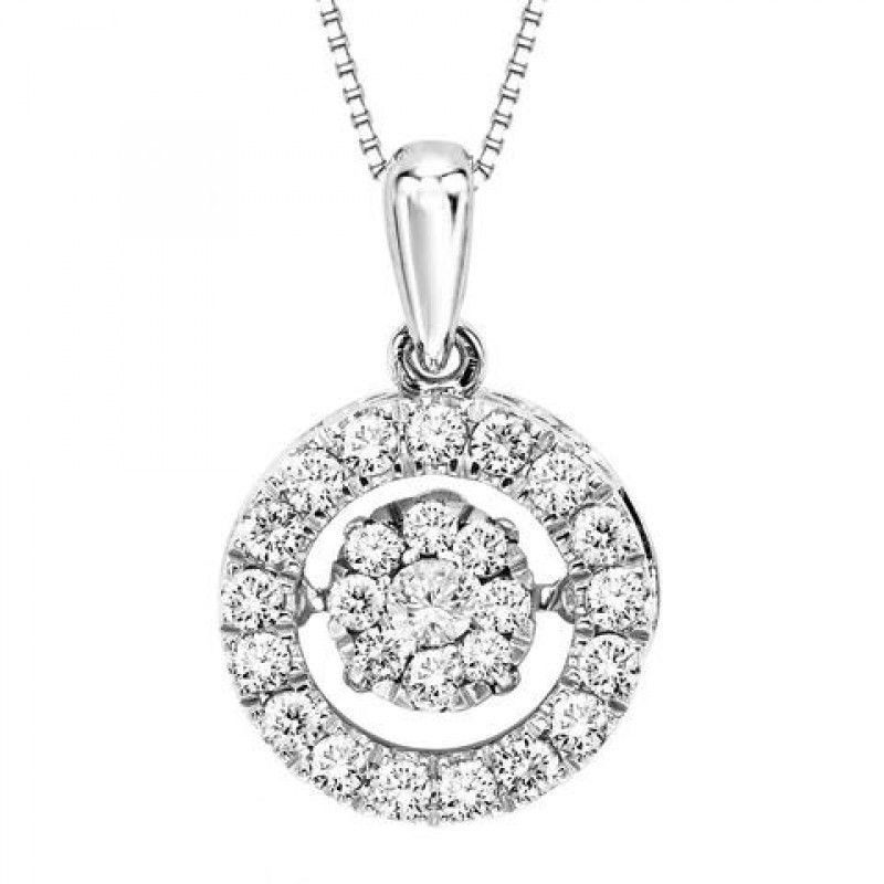 10k white gold 50cttw circle rhythm of love diamond pendant 10k white gold 50cttw circle rhythm of love diamond pendant aloadofball Images