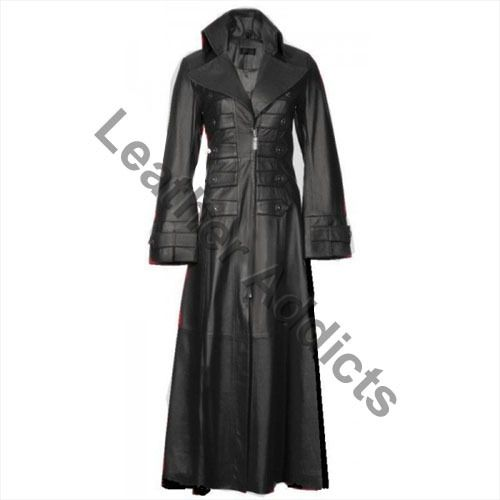 leather trench idea
