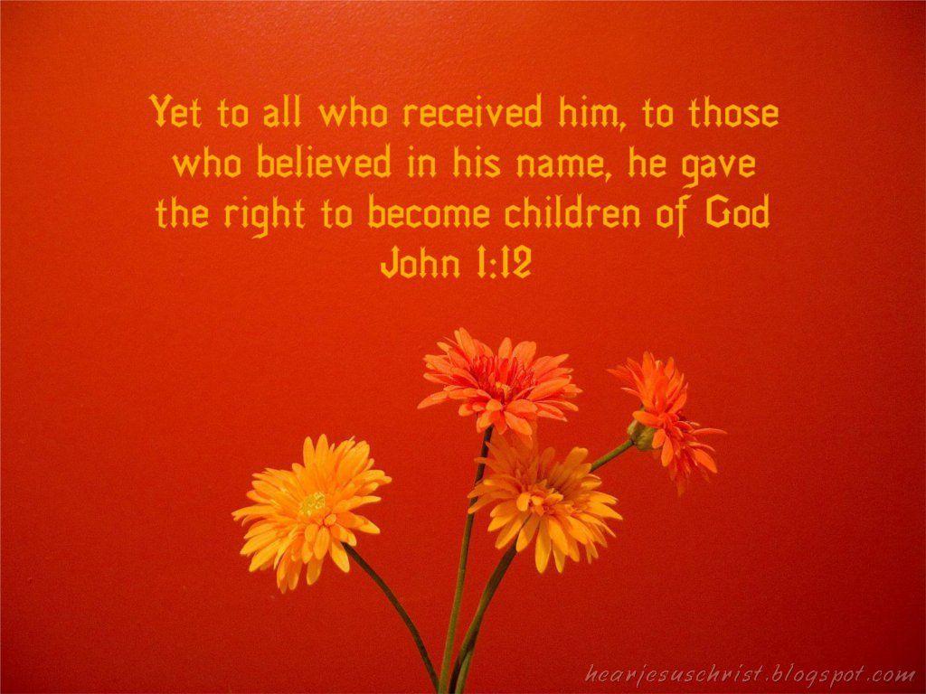 pictures of kjv bible verses | Bible Verse Wallpaper - John 1:12 ...