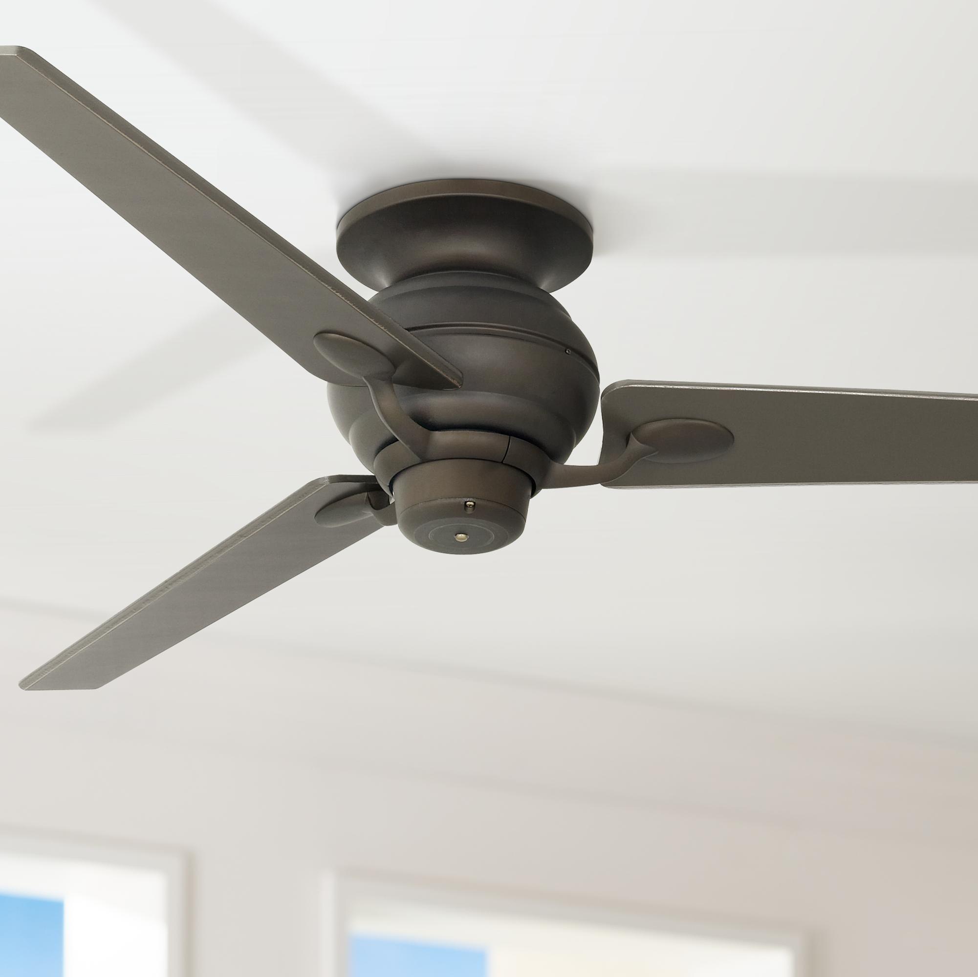 60 Inch Spyder Bronze Tapered Blades Hugger Ceiling Fan