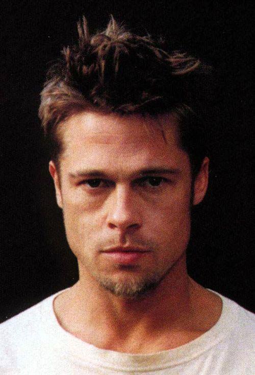 Brad Pitt Fight Club Style Brad Pitt Hair Brad Pitt Brad Pitt Short Hair