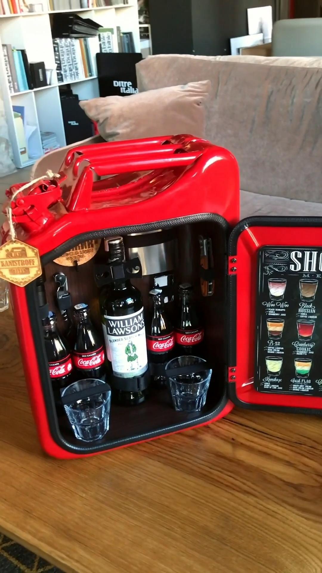 Jerry Can Mini Bar Alcohol Bar Bar Cabinet Whiskey Bar Video Video In 2020 Jerry Can Mini Bar Jerry Can Mini Bar