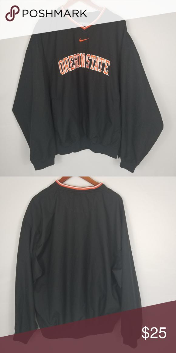 Nike Oregon State University V Neck Pullover Clothes Design Colorful Shirts Fashion Design