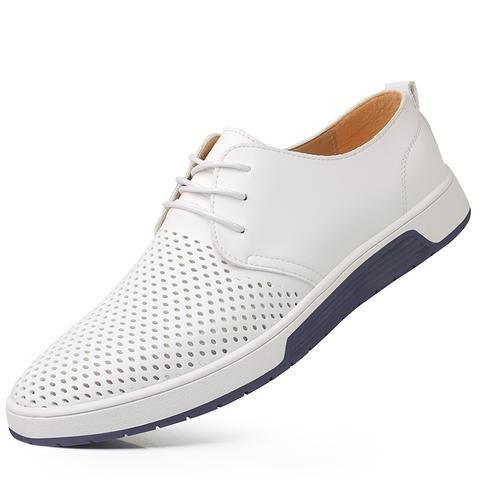 new 2018 summer brand casual men shoes mens flats luxury