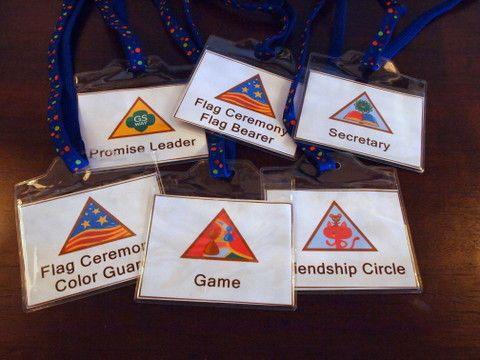 Girl Scout Printables: Kaper Badges