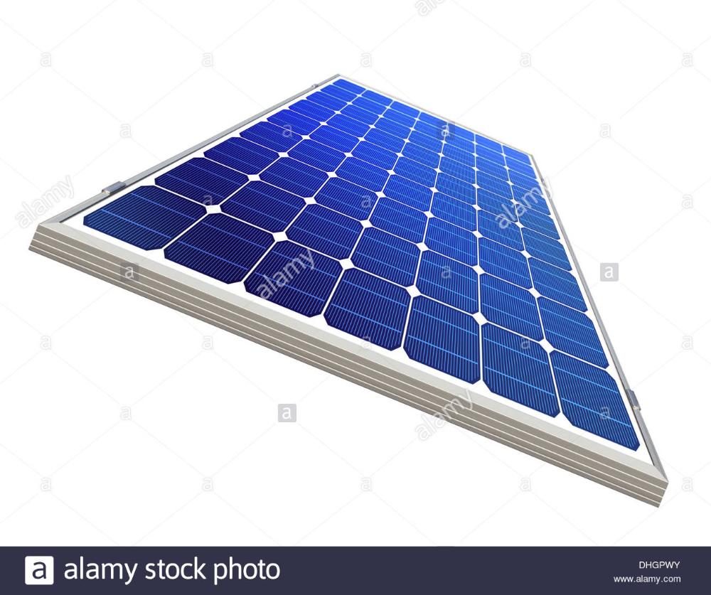Solar Panel On White Background Environmental Pure Energy Stock Photo In 2020 Solar Panels Solar Energy Solar