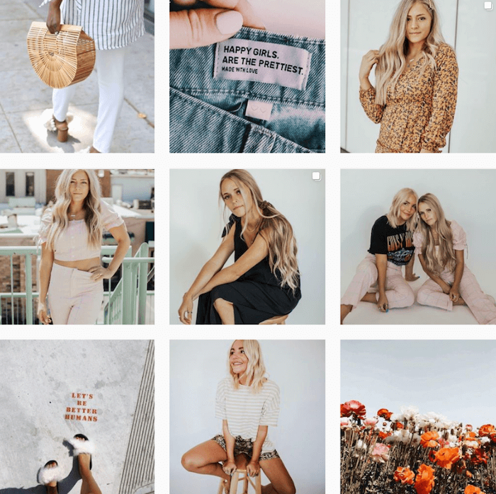 13 Instagram Themes To Inspire Your Brand In 2019 Sked Social Instagram Theme Instagram Creative Branding