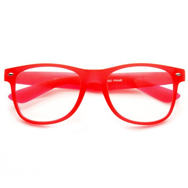 664c62b47b Neon Gummy Soft Touch Rubber Rave Party Wayfarer Glasses 8802 ...