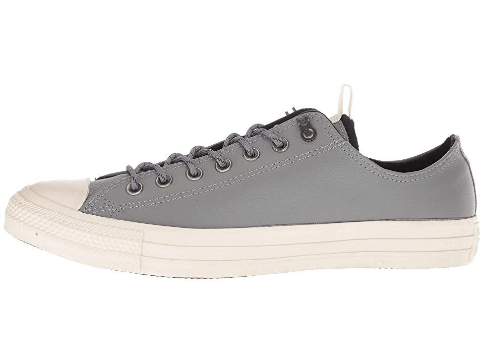 f433a521291d Converse Chuck Taylor All Star Leather - Ox Lace up casual Shoes Mason Black  Driftwood