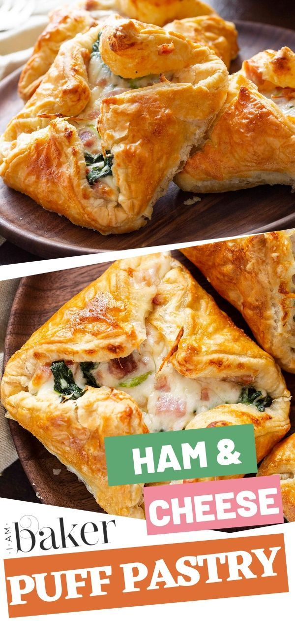 Ham and Cheese Puff Pastry | i am baker