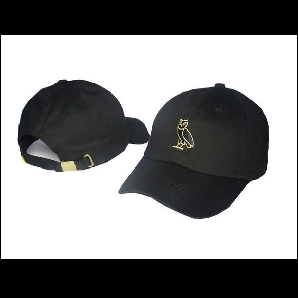 6425e0b5a02b2 Drake owl hat black strap back OVO Drake hat snapback baseball cap GOLD OWL  HAT (brand new in package) Accessories Hats