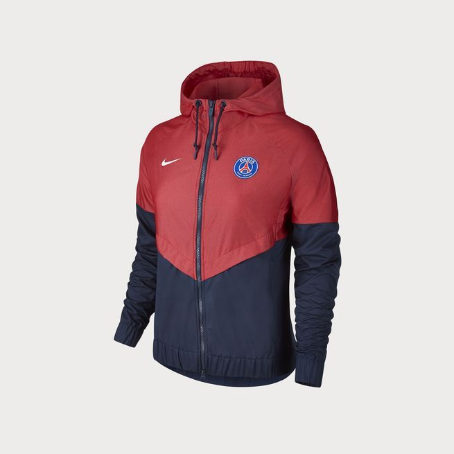 3916a7f6a473 PSG NIKE AUTHENTIC WINDRUNNER JACKET 17 18 - WOMEN