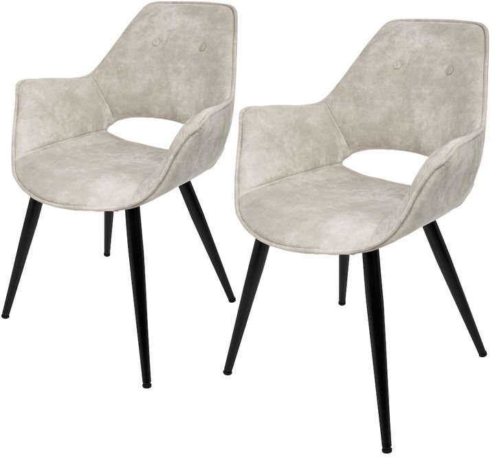 2 Luxe Stoelen.Lumisource Mustang Accent Chairs Set Of 2 Products In 2019