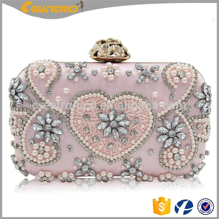 09bb89fb6af3 2018 wholesale colorful ladies handmade bead bags for party