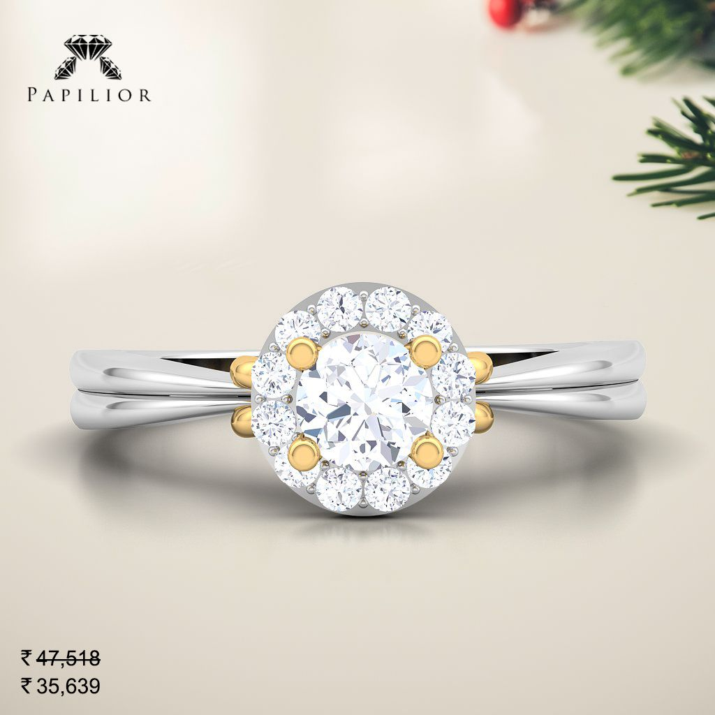 Buy Solitaire Caron Solitaire Ring Jewellery Online Solitaire