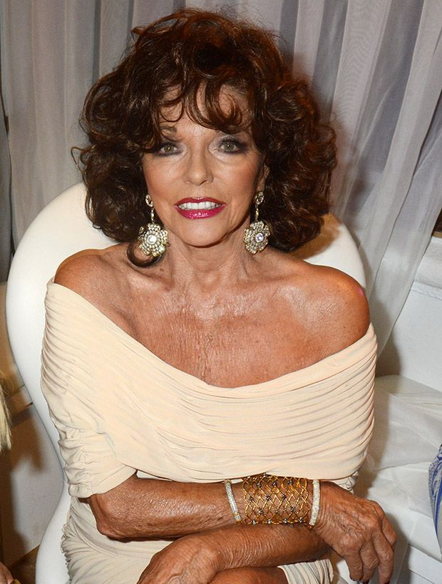 joan collins fan mail