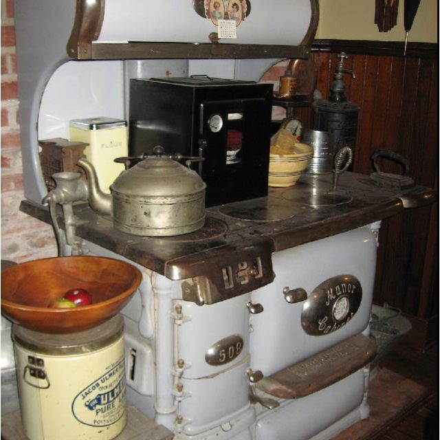 Old Fashioned Stove: Old Fashioned Things