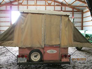 Vintage 1967 Bethany Chief Pop Up Camper