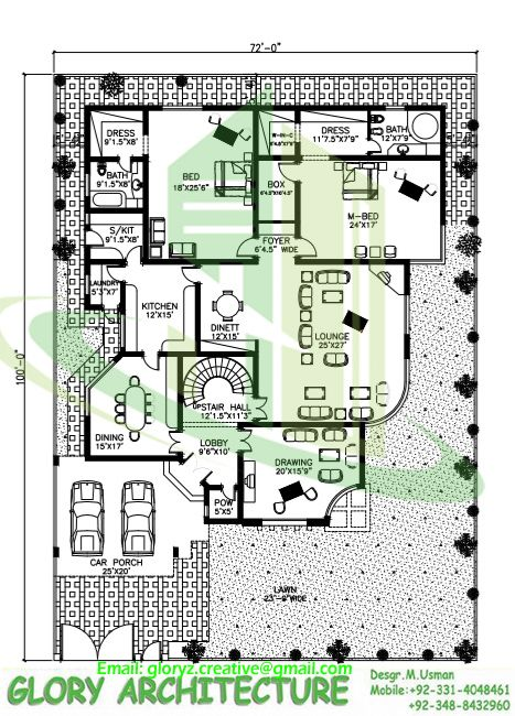70x75 House Plan G 15 Islamabad House Map And Drawings