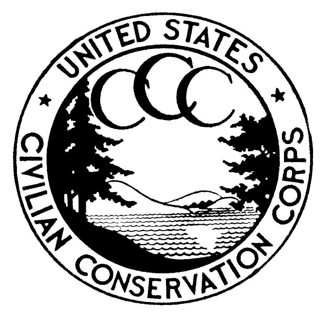 CCC Logo Civilian conservation corps, Desoto state park