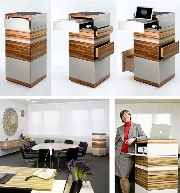 17 standing desks that will help you live longer dvice desk pinterest. Black Bedroom Furniture Sets. Home Design Ideas