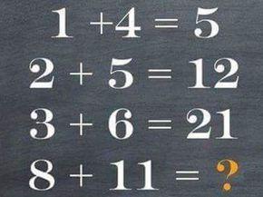 Nadie puede con estos acertijos matemáticos