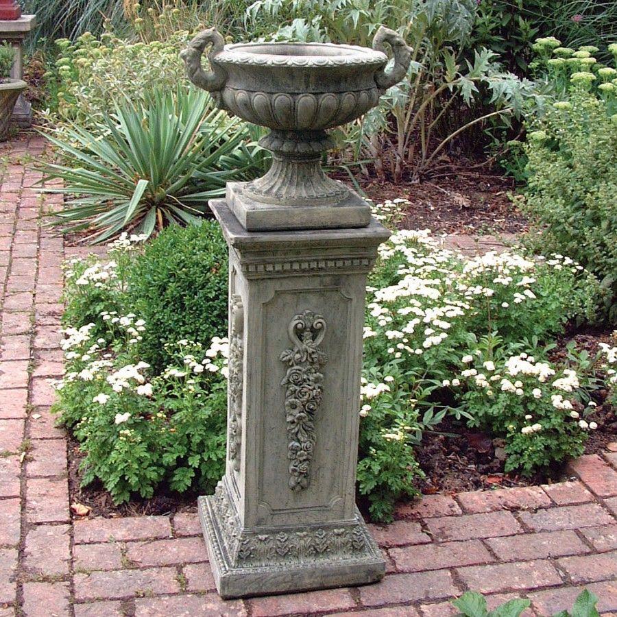 Tall Garden Planters | Home » Large Garden Planter   Modena 29 Stone Vase  Plant Pot