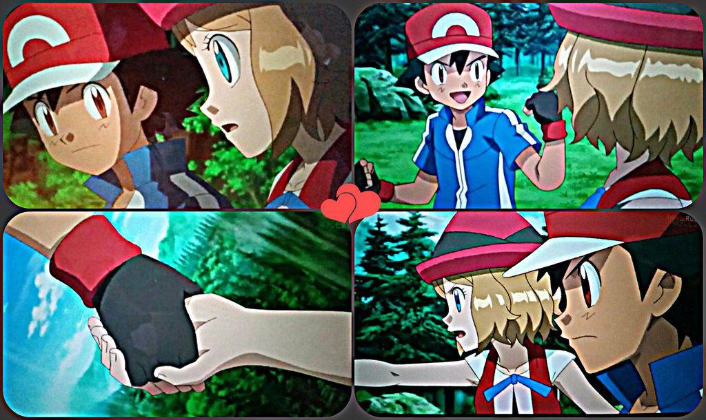 Pokemon XYZ Collage || ash and Serena amourshipping