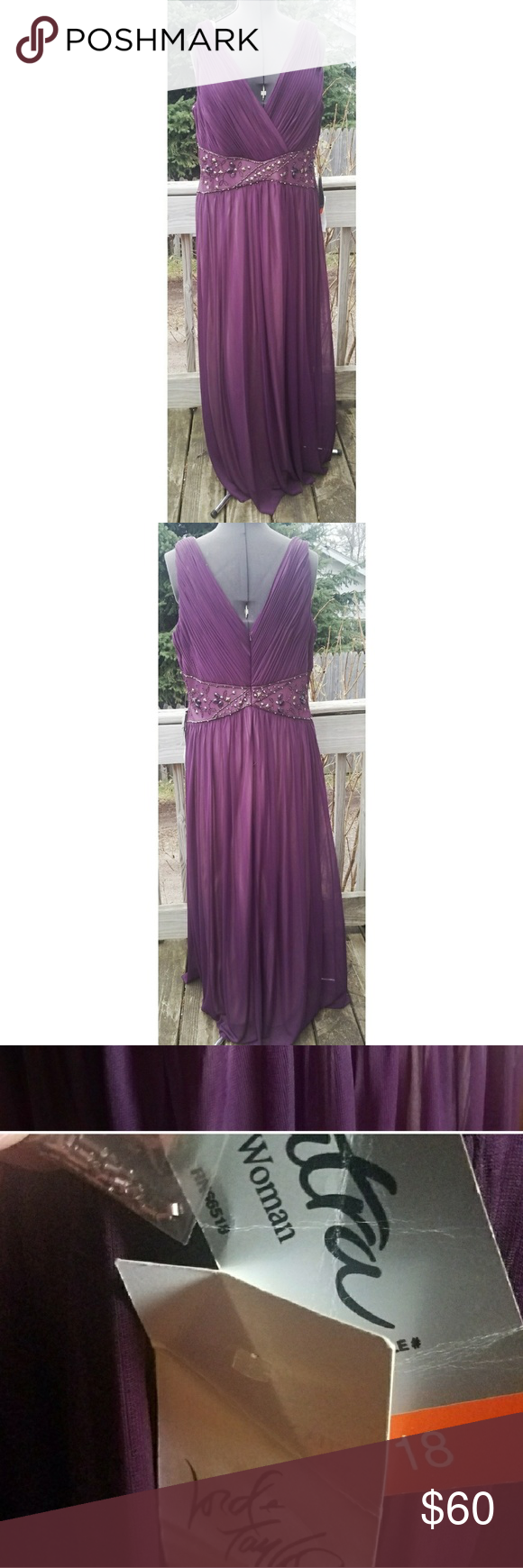 Patra evening gown NWT