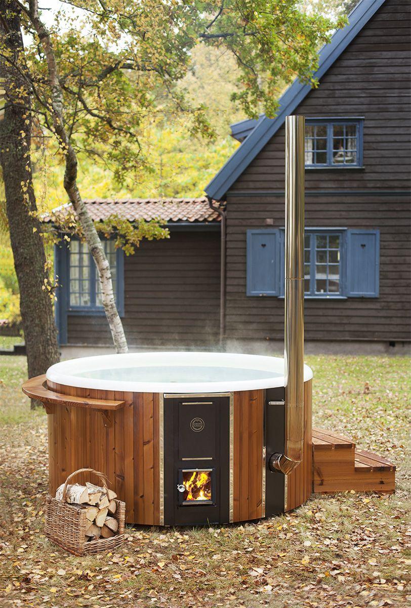 Breng Een Premium Houtgestookte Ervaring In Uw Tuin Buitenbad Tuin Tuin Zwembad