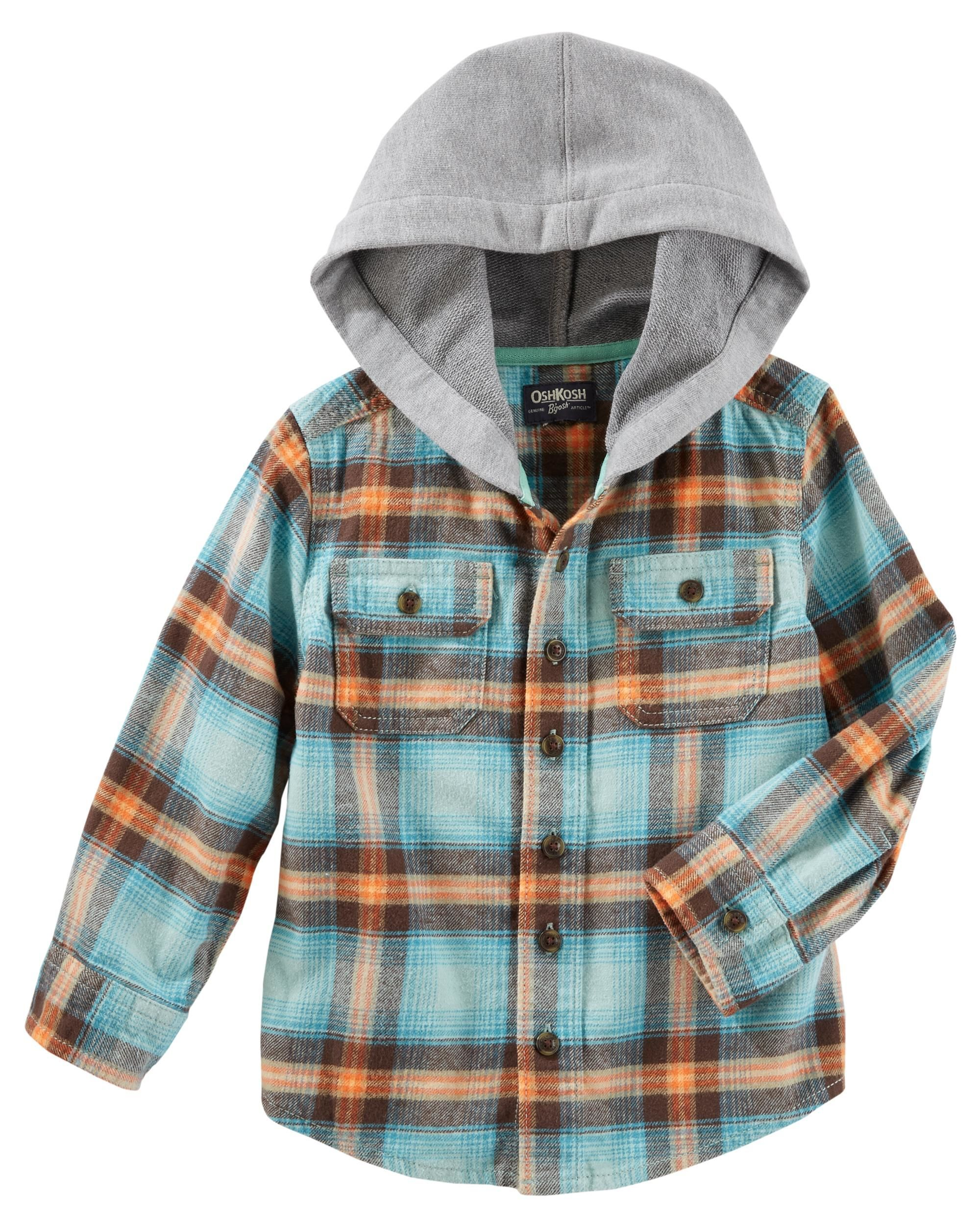 ceac750036d6 Flannel Pullover