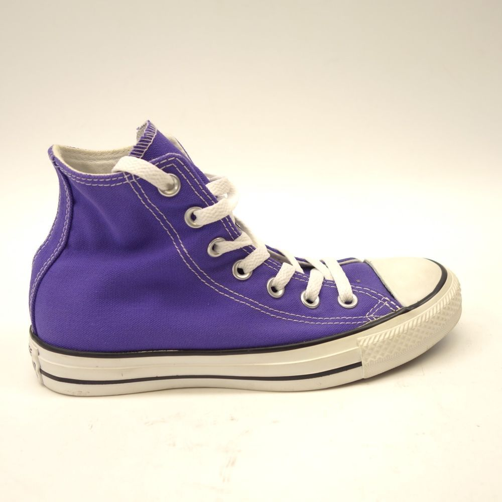 0fba64b78e0200 New Converse Womens Classic Purple Chuck Taylor All Star High Top Canvas  Shoes 6  Converse  Comfort