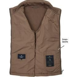 Photo of Hackett Herren Jacke Stepp-Weste, Mikrofaser wattiert, cappuccino braun HackettH…