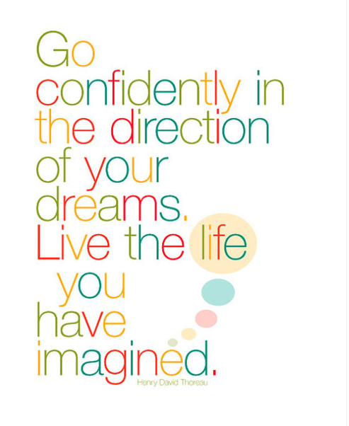 If your dreams don't scare you, they aren't big enough. Dream of a life-changing experience, developing yourself and the community around you? Make those dreams come true: www.aiesecus.org