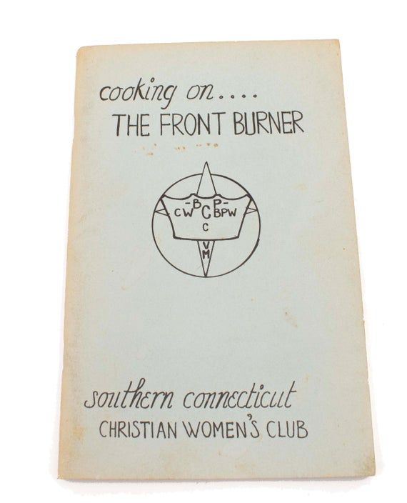 1970s Vintage Church Cookbook Southern Connecticut Christian Women's Club #churchitems